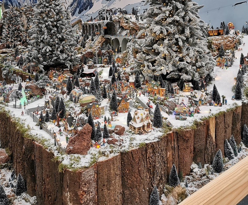 Luville Lemax kerstdorp Tuincentrum Eurofleur Leusden