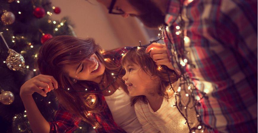 Kerstdecoratie, kerstverlichting