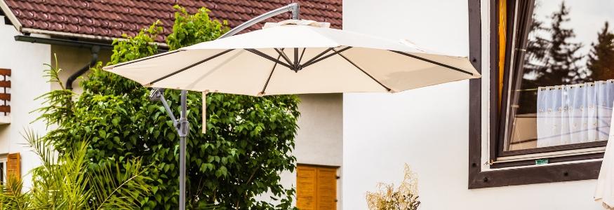 Parasol kopen doe je bij tuincentrum Eurofleur, tegen de beste prijs