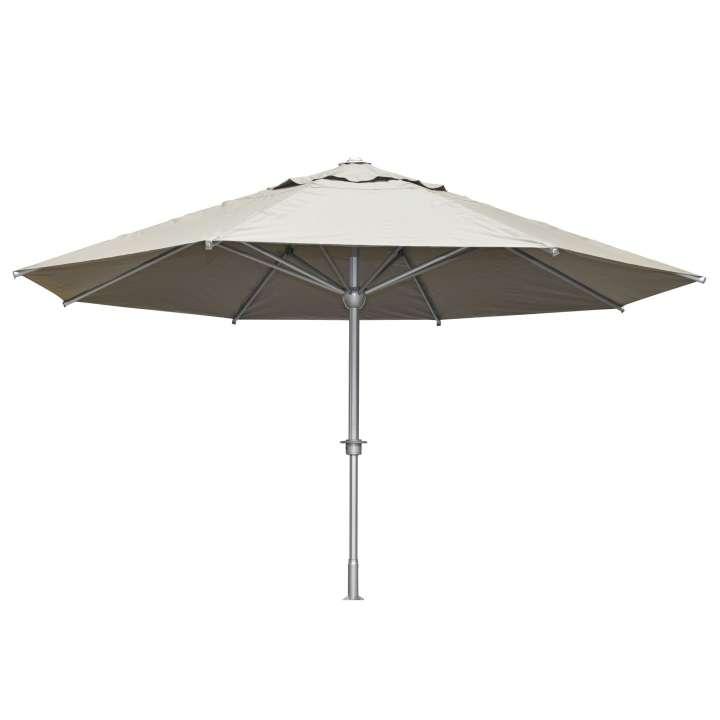 Houston parasol Ø500 cm taupe
