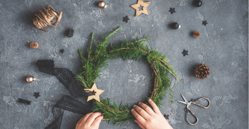 Kerstkrans of guirlande kopen   Tuincentrum Eurofleur