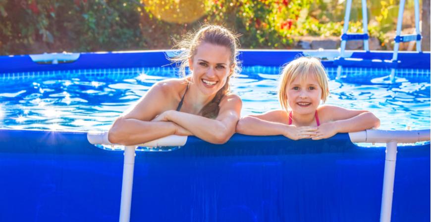 zwembad kopen voor in de tuin